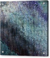 Grunge Texture Blue Ugly Rough Abstract Surface Wallpaper Stock Fused Acrylic Print