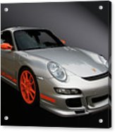 Gt3 Rs Acrylic Print by Bill Dutting