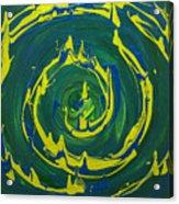 Guacamole Swirl Acrylic Print