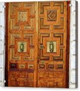 Guadalajara Door 1 Acrylic Print