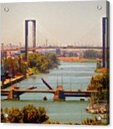 Guadalquivir River Acrylic Print