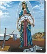 Guadalupe Visits Dali Acrylic Print