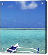 Guam, Agana Bay Acrylic Print