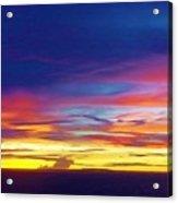 Guam Sunrise I 10/2015 Acrylic Print