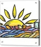 Guam Sunset 2009 Acrylic Print