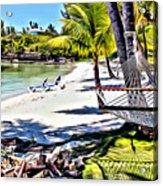 Guana Hammock Acrylic Print
