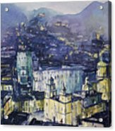 Guanajuato At Night Acrylic Print