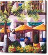 Guanajuato Cafe Acrylic Print