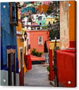 Guanajuato Lane Acrylic Print