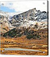 Guanella Pass Colorado Acrylic Print by Beth Riser