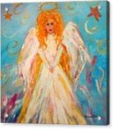 Guardian Angel Acrylic Print by Barbara Pirkle