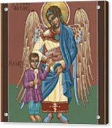 Guardian Angel Guarding Little Elijah Gemmell 191 Acrylic Print