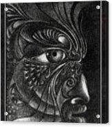 Guardian Cherub Acrylic Print