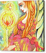 Guardian Mother Of Light Acrylic Print