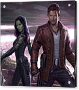 Guardians Of The Galaxy Vol. 2 Acrylic Print