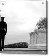 Guarding The Unknown Soldier Acrylic Print