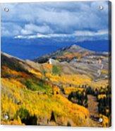 Guardsman Pass Autumn Color Acrylic Print