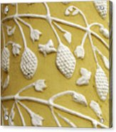 Guatemala Floral Detail Acrylic Print