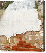 Guatemalan Ancient Wall Antigua Acrylic Print