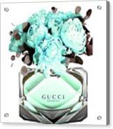 Gucci Blue Perfume Acrylic Print