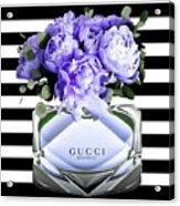 Gucci Perfume Violet Acrylic Print