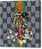 Gucci With Jewelry Acrylic Print