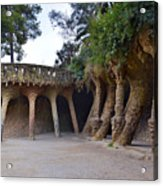 Guell Style Acrylic Print