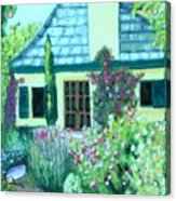 Guest Cottage Acrylic Print
