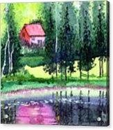 Guest House Acrylic Print