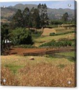 Guge Mountain Range Southern Ethiopia Acrylic Print