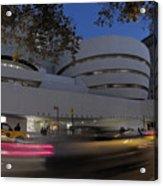 Guggenheim Museum New York  Acrylic Print