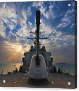 Guided-missile Destroyer Uss Higgins Acrylic Print