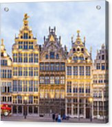 Guild Houses At The Grote Markt Acrylic Print