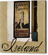 Guinness As Usual Athlone Ireland Acrylic Print