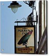 Guinness For Strength Dingle Ireland Acrylic Print