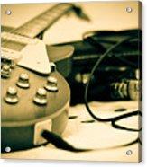 Guitar And Jack Acrylic Print