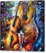 Guitar And Violin Acrylic Print