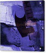 Guitar Art 001a Acrylic Print