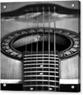 Guitar Close Up Acrylic Print