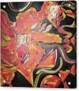 Guitar Jiggy Acrylic Print