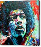 Guitar Legend Acrylic Print