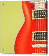Guitar Pic Acrylic Print