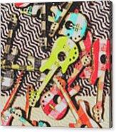 Guitar Playtime Acrylic Print