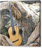 Guitar Purgatory Acrylic Print