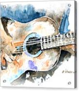 Guitar Riffs... Acrylic Print
