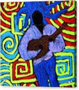 Guitar Solo Acrylic Print