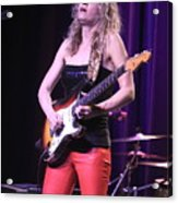 Guitarist Ana Popovic Acrylic Print