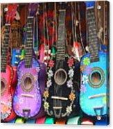 Guitarras Floriadas II Acrylic Print