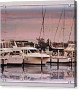 Gulf Coast Dock Acrylic Print