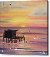 Gulf Coast Fishing Shack Acrylic Print